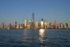 Skyline de Manhattan, NYC Imagem de Stock