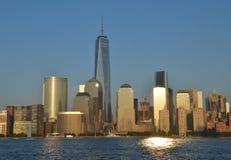 Skyline de Manhattan, NYC Imagens de Stock Royalty Free