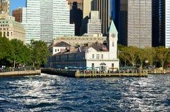 Skyline de Manhattan, NYC, EUA Foto de Stock Royalty Free