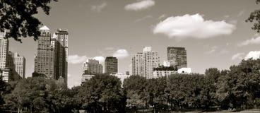Skyline de Manhatten Imagens de Stock Royalty Free