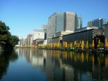 A skyline de Marunouchi fotos de stock royalty free