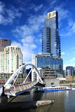 Skyline de Melbourne Fotos de Stock Royalty Free