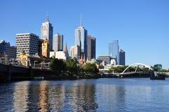 Skyline de Melbourne fotografia de stock royalty free