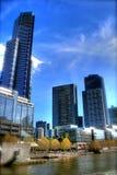 Skyline de Melbourne imagem de stock