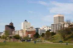 Skyline de Memphis Imagens de Stock