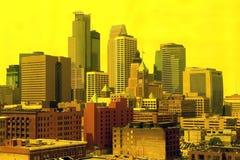 Skyline de Milwaukee foto de stock