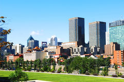 Skyline de Montreal Fotos de Stock Royalty Free