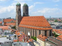 Skyline de Munich foto de stock