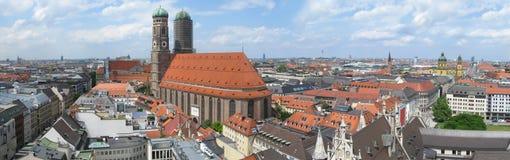 Skyline de Munich Fotografia de Stock
