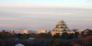 Skyline de Nagoya, Japão Fotos de Stock
