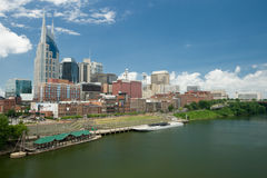 Skyline de Nashville fotos de stock royalty free