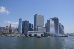 Skyline de New York, Fotos de Stock Royalty Free