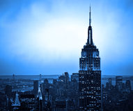 Skyline de New York fotografia de stock