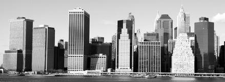 Skyline de New York Imagens de Stock