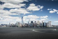 Skyline 2014 de New York Imagens de Stock