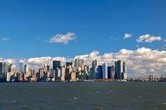 Skyline de New York Fotos de Stock