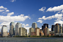 Skyline de New York City   imagem de stock royalty free