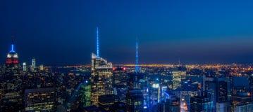Skyline de New York City Imagens de Stock