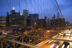 Skyline de New York City Fotos de Stock Royalty Free