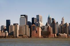 Skyline de New York City Imagem de Stock