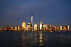 Skyline de New York City Fotos de Stock Royalty Free