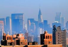 Skyline de New York City fotos de stock