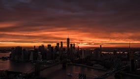 Skyline de New York City Foto de Stock