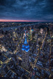 Skyline de New York City Fotografia de Stock