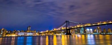 Skyline de New York City, EUA foto de stock royalty free