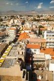 Skyline de Nicosia (Lefkosia) Imagens de Stock