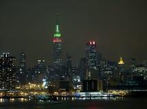Skyline de NY Imagens de Stock