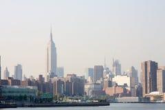 Skyline de Ny Fotos de Stock Royalty Free