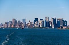 Skyline de NYC Imagens de Stock Royalty Free