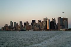 Skyline de NYC Fotos de Stock Royalty Free