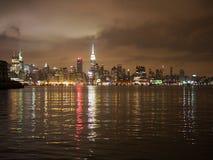 Skyline de NYC Imagem de Stock