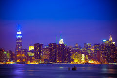 Skyline de NYC Fotos de Stock