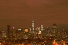 Skyline de NYC Foto de Stock