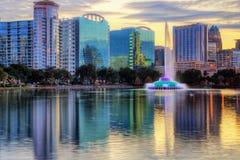Skyline de Orlando Imagem de Stock