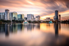 Skyline de Orlando, Florida Imagem de Stock