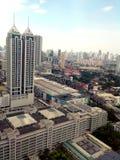Skyline de Ortigas, de pasig, de mandaluyong e de makati Imagem de Stock Royalty Free