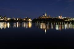 Skyline de Ottawa imagem de stock