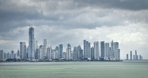 Skyline de Panamá imagem de stock royalty free
