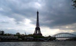 Skyline de Paris fotografia de stock