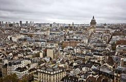 Skyline de Paris Imagem de Stock