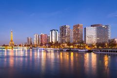 Skyline de Paris Fotos de Stock Royalty Free