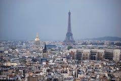 A skyline de Paris Fotografia de Stock