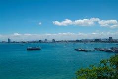 Skyline de Pattaya Imagens de Stock Royalty Free