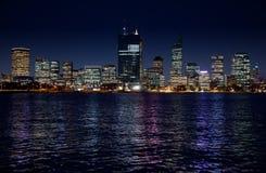 Skyline de Perth Imagens de Stock
