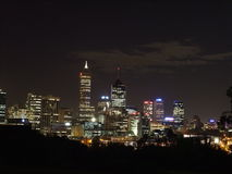 Skyline de Perth Fotos de Stock Royalty Free