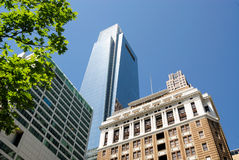 Skyline de Philadelphfia Fotos de Stock Royalty Free